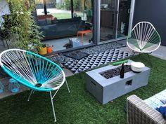 How to Rewrap an Acapulco Chair Midcentury Modern, Modern Interior, Patio Chairs, Outdoor Chairs, Outdoor Decor, Outdoor Living, Acapulco Chair, Interior Design Portfolios, Modern Outdoor Furniture