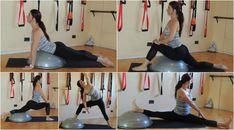 Ejercicios de #flexibilidad utilizando #BOSU www.diana-bustamante.com.ar