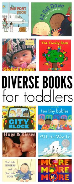 Diverse Books For Toddlers