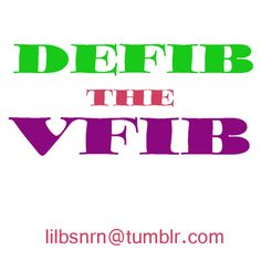 ACLS basic! If in VFIB you... DEFIB! And pulseless V-tach is the same as VFIB. Boom! Nursed. LOL