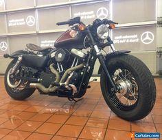 Harley Davidson Forty Eight 48 sportster bobber #harleydavidson #forsale #unitedkingdom