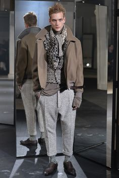 Haider Ackermann Men's RTW Fall 2014 - Slideshow - Runway, Fashion Week, Fashion Shows, Reviews and Fashion Images - WWD.com