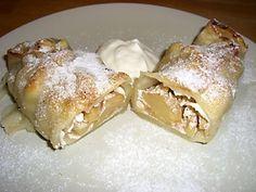 Apfel Maultaschen mit Wahlnüssen Rezept - Rezepte kochen - kochbar.de