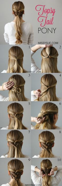 This is a simple and easy way to change up your pony.