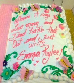 20 Hilarious Literal Cake Decorations | Guff