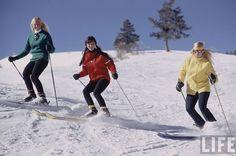 "Life Magazine. March,1971-- ""A Very Nice Kind of Ski Bum"" photo by John Dominis. Aspen, Colorado."