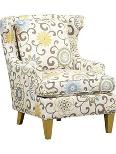 Living Room Furniture, Lauralie Wing Chair, Living Room Furniture | Havertys Furniture