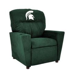 Michigan State University Microfiber Tween Recliner