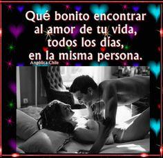 SUEÑOS DE AMOR Y MAGIA: Bonito encontrar al amor de tu vida, en la misma p...