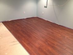 Basement Flooring Vinyl Wood Look