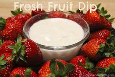 Easy+fresh+fruit+dip+recipe