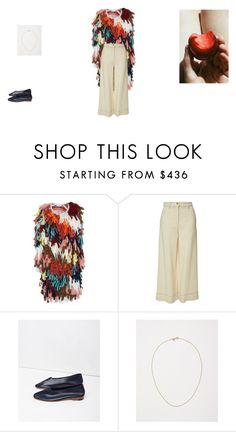 """Untitled #868"" by joqaile ❤ liked on Polyvore featuring Chloé, Sonia Rykiel, Martiniano and Satomi Kawakita"