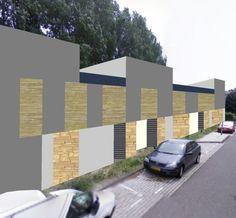 CPO locatie Haarlem. Ontwerp Zelfbouwmeesters.