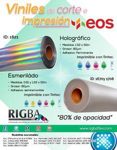 En Rrigba cotamos con diferentes acabados de vinil de impresión para que le des a tus proyectos impresos ese toque especial que estas buscando. Printable, Searching, Innovative Products, Impressionism