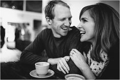 Coffee shop Engagement photo, natural engagement pics, Charlotte nc photography, www.crystalstokesphotography.com