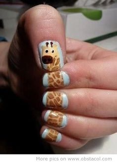 On love this so doing this with my nails!!!!