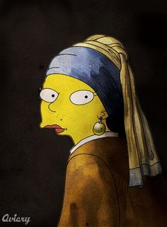 Girl with pearl earring -  Marge