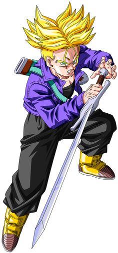 (Vìdeo) Aprenda a desenhar seu personagem favorito agora, clique na foto e saiba como! Dragon ball Z para colorir dragon ball z, dragon ball z shin budokai, dragon ball z budokai tenkaichi 3 dragon ball z kai Dragon Ball Z, Akira, Vegeta Y Trunks, Trunks And Mai, Dbz Characters, Anime Tattoos, Manga Comics, Illustration, Sword