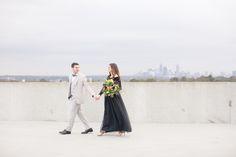 Sydney Bruton Photography Blog Modern Romantic Atlanta Rooftop // Melanie & Logan - Engagement Session Giveaway - Sydney Bruton Photography Blog