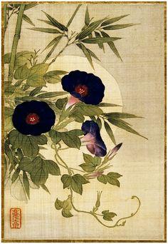 Okamoto Shuki-Цветы,птицы и насекомые.. Обсуждение на LiveInternet - Российский Сервис Онлайн-Дневников