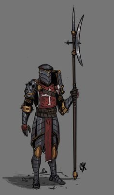 Fantasy Concept Art, Fantasy Armor, Fantasy Weapons, Medieval Fantasy, Fantasy Character Design, Character Design Inspiration, Dark Fantasy, Character Art, Dungeons And Dragons Characters