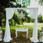venkovní obřad - realizace Jedinečná svatba