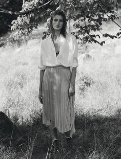 sweet naiveté: louise lefebure by johan sandberg for elle sweden august 2015   visual optimism; fashion editorials, shows, campaigns & more!