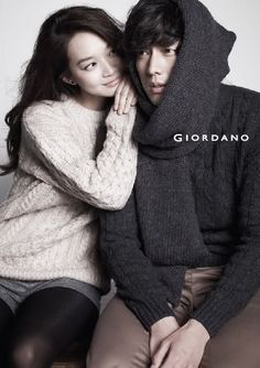 Shin Min Ah and So Ji Sub