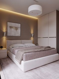 17 Simple but Awesome Master Bedroom Design Idea ~ Home Design Deccoration Bedroom Decor Design, Bedroom Inspirations, Modern Bedroom, Bedroom Layouts, Luxurious Bedrooms, Small Bedroom, Home Bedroom, Bedroom Furniture Design