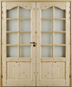 Atle 3 Valv SP8+Sp8 - Interior door Made by GK Door, Glommersträsk, Sweden.