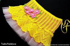 Pineapple Skirt free crochet graph pattern