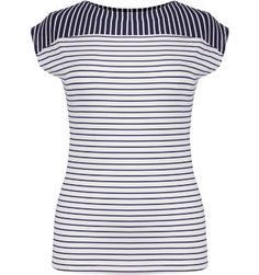 Tail Activewear Womens Bellaire Stripe Boatneck Short Sleeve Shirt at Golf Galaxy
