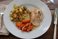 Recipe: Spring Chicken with Carrots and Potatoes: http://chrissycarter.com/spring-chicken/ #recipes via @Chrissy Carter