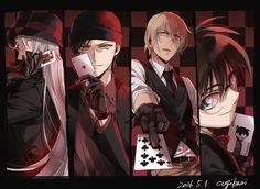 Magic Kaito, Anime Guys, Manga Anime, Super Manga, Manhwa, Best Anime Shows, Detektif Conan, Detective Conan Wallpapers, Kaito Kid