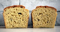 CHLEB JAGLANY BEZGLUTENOWY Banana Bread, Food And Drink, Desserts, Dessert, Postres, Deserts
