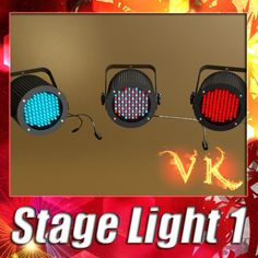 3D Model Realistic Stage light 01 3D Model- Realistic Stage light 01.    LED lights with autoiluminated materials included, NO postproduction on presentation images.        *************************************    3ds, Obj, fbx and max files, are compressed in zip files with all materials, textures and folders.    Standard 3ds max materials and Vray materials included. with .mat and .mtl      Stage light : 25.276 polygons    *******************************************      Detailed enough…