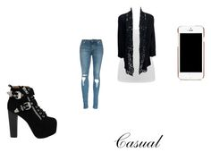 """casual"" by shamoodah-sakura-ajam-haruno on Polyvore featuring M&Co, Jeffrey Campbell, Moschino, women's clothing, women, female, woman, misses and juniors"