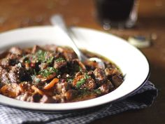 Irish Stew with Guinness Stout