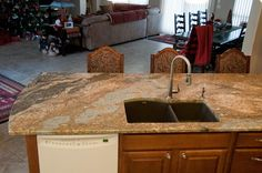 Granite countertop with Blanco sink from Altra Home Decor