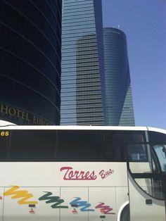 Bus 35 plazas en Hotel Eurostar #Madrid Madrid, Circuits, Events, Viajes