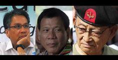 FVR tells Duterte Roxas: Quit personal argument it won solve countrys problems #RagnarokConnection