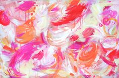 abstract...pinks and oranges