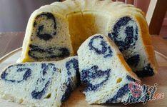 Fantastický makovník pečený v bábovkové formě | NejRecept.cz Sugar, Bread, Cookies, Cake, Poppy, Food, Decor, Food Ideas, Cakes