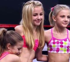 Kenzie, Chloe, and Paige at pyramid