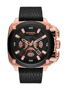 a26429e07c8 Diesel DZ7346 BAMF Chronograph Rose Gold Dial Watch Watch Sale
