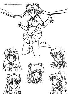 104 Best Sailor Moon Coloring Pages Images Coloring Pages Sailor