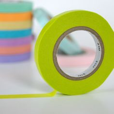 Slim Washi Tape - Grass Green