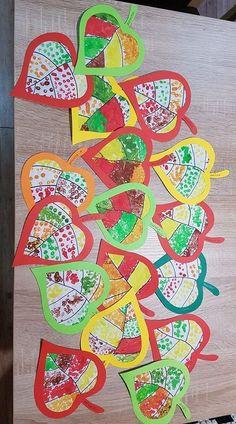 Kunstunterricht - Fall Crafts For Toddlers Autumn Crafts, Fall Crafts For Kids, Autumn Art, Art For Kids, Diy And Crafts, Arts And Crafts, Autumn Painting, Autumn Theme, Kids Crafts