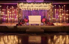 No reception is really complete without wedding mandap decorations. But easy it should be, your wedding decoration will flip a monotonous event Decoration Hall, Wedding Hall Decorations, Marriage Decoration, Wedding Centerpieces, Aisle Decorations, Centerpiece Ideas, Sunflower Decorations, Indian Decoration, Sunflower Centerpieces