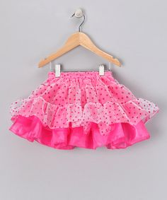 Any dancing diva will look ready for the party in this shimmering, showstopping tutu. With an easy-on elastic waistband and layered skirt, this piece allows for some serious footloose moves.Fits ages 3 to 5 years100% polyesterHand wash; hang dryImported